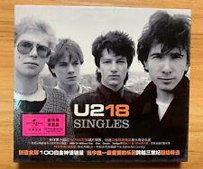 U2 18 SINGLES China 1st Press CD Promo Sticker Sealed Very Rare