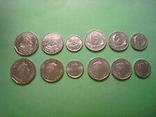 SET EST. CARIBEÑOS 2004-2009 EAST CARIBEAN (1,2,5,10,25 cent. y 1 Dólar) S/C UNC
