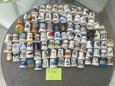 Thimble Collection 91 assorted European