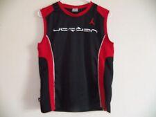Michael Air Jordan Jumpman Size Youth Medium Black Basketball sewn Jersey bulls