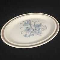 "VTG Oval Serving Platter 13 1/4"" Royal Doulton Inspiration Lambethware England"