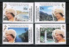 QEII Dominica 40th Anniversary Accession 1992 MNH UMM SG 1515-1518