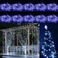 10x 10M Pure White Battery Powered Copper Wire 100 LED String Fairy Light USA