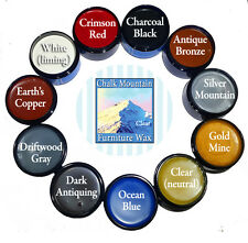 Chalk Painting Furniture Wax & Bare Wood 4 oz Wax.Choose 1 color from 11 colors
