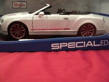 Maisto Bentley Continental Supersports ISR Convertible  1/18 scale NIB