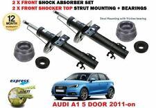 Para Audi A1 5 Puerta 2011- > 2x Amortiguadores Delanteros + Soporte Del