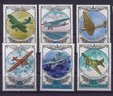 RUSIA-URSS/RUSSIA USSR 1978 MNH SC.C115/C120 Vintage Aviation