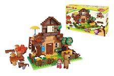 Simba Masha y el Oso Casa de Construccion del oso como sale en la TV 163 Piezas