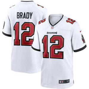 Herren Tampa Bay Buccaneers American Fußball Trikot Jersey*Top NFL Tom Brady#12!