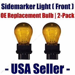 Sidemarker (Front) Light Bulb 2pk - Fits Listed Buick Vehicles - 3757NAK