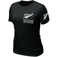 T-Shirt Femme NEW-ZEALAND RUGBY SUPPORTER Maillot ★★★★★★