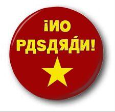 "NO PASARAN - 25mm 1"" Button Badge - Novelty Cute Anti Putin Pussy Riot"