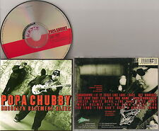 POPA CHUBBY - Brooklyn Basement Blues / 1998 Dixiefrog Records France / CD