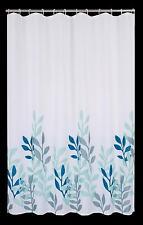 Rideau de douche fleurs feuilles 180x180 cm incl. ANNEAUX Modèle 1012