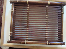 """Bamboo Tray appr 13"""" x 10"""""""