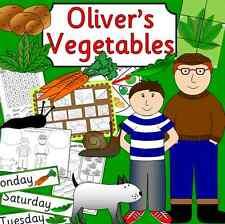 Oliver's VERDURA STORY insegnamento risorsa su CD-la coltivazione, Oliver, eyfs, KS1