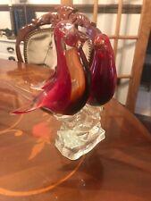 MURANO RED GLASS LOVEBIRDS