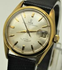 Tudor by Rolex Prince Oysterdate Rotor Self Winding Gold GF SERVICED work GREAT