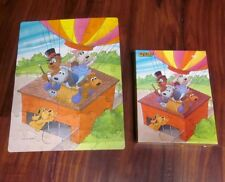 POUND PUPPIES jigsaw puzzle 1986 hot air balloon Tonka toys Barkerville & Cooler