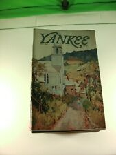 Lot of 35 Yankee Magazines - Back Issues from the 1980's