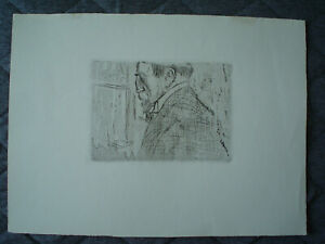 JEAN-LOUIS FORAIN  - Unsigned Etching