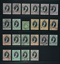 QEII, 1953 Coronation, a collection of 22 stamps, used condition.