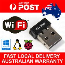 802.11n Wireless Wifi RTL8188 USB NIC for Raspberry Pi, Windows, Mac, Linux IOT