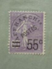 Precancel Used French Stamps