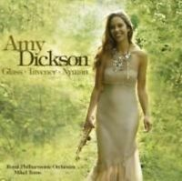 AMY DICKSON Glass, Taverner, Nyman CD BRAND NEW