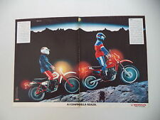 advertising Pubblicità 1983 MOTO HONDA XL 125/XL 600
