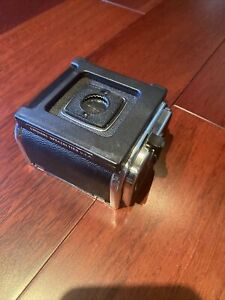 Hasselblad A24 Film Back 6x6 - Chrome Mint Condition with Dark Slide Holder