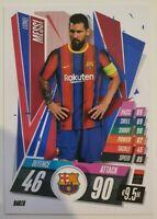 2020/21 Match Attax UEFA Champions League - Lionel Messi BAR18 Barcelona