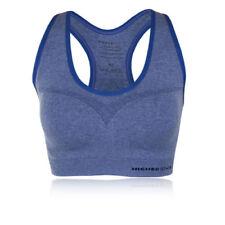 Abbigliamento sportivo da donna blu senza maniche Taglia XS