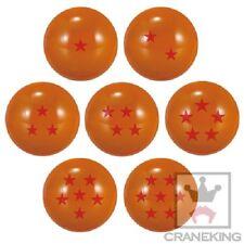Dragonball Z 2.5'' Set of 7 Balls Bouncy Ball Cosplay Prop NEW