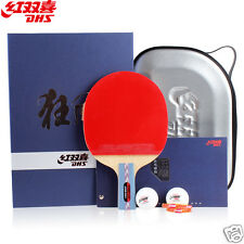 DHS HURRICANE-I Tournament Table Tennis Racket Ping Pong Paddle Penhold Racquet