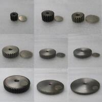 45# Steel 2Mod 10T-59T Spur Pinion Gear Motor Gear Thickness 20mm x 1Pcs