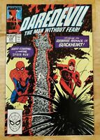 Daredevil #270, VF+ 8.5, 1st Appearance Blackheart; Spider-Man