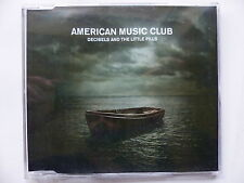 CDr promo AMERICAN MUSIC CLUB Decibels and the little pills FRYCD337 CDR