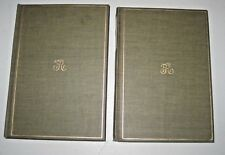 Theodore Roosevelt Hunting Trips Of A Ranchman Limited 2 vol set Elkhorn edition