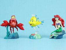 Furuta Choco Egg Disney Little Mermaid Mini Figures Ariel Flounder Sebastian