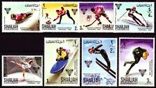 Sharjah 1968 ** Mi.400/07 A Winter Olympic Games Olympische Spiele