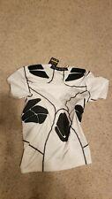 Nwt Under Armour Men's Ua HeatGear Short Sleeve padded Compression Shirt Size L