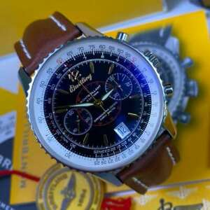 Breitling Montbrillant Edition A48330 - Black Dial - Part Exchange Available