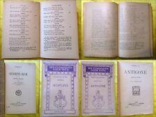 SOPHOCLE. Antigone. Œdipe-Roi. (Les Classiques pour Tous Hatier). N° 256 & 540.