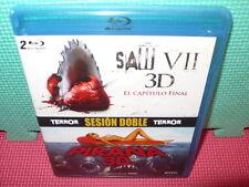 SAW VII 3D - PIRAÑA 3D - BLU-RAYS