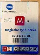NIB Konica Minolta Magicolor 2300 Series Toner Magenta Unopened
