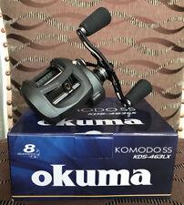 Okuma Komodo SS KDS-463LX Linkshand Baitcastrolle