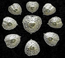 ** FAB VINTAGE GORHAM STERLING SILVER MASTER NUT BOWL & (8) Small NUT DISHES **