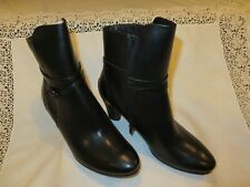 ECCO WOMEN'S SCHULPTED 75 MID CUT ZIPPER BOOT US SIZE 10-10.5, EU SIZE 41 NIB