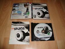 SKATE 1 DE EA SPORTS JUEGO DE SKATEBOARDING PARA LA SONY PS3 USADO COMPLETO